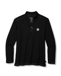 Pittsburgh Steelers Men's Tommy Bahama Sport Emfielder 2.0 1/2 Zip