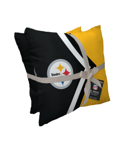 Pittsburgh Steelers Side Arrow Pillow - 2 pack