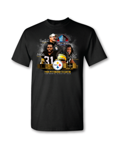 Pittsburgh Steelers Hall of Fame Centennial Class Short Sleeve T-Shirt