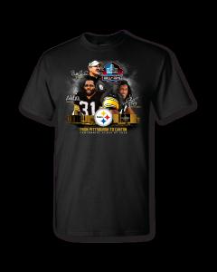 Pittsburgh Steelers Hall of Fame Centennial Class Short Sleeve T-Shirt