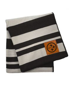 Pittsburgh Steelers 60x70 in. Striped Blanket