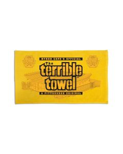 Pittsburgh Steelers Heinz Field Pencil Sketch Terrible Towel