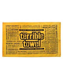 Pittsburgh Steelers Neighborhoods Terrible Towel