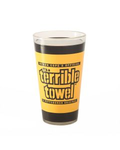 Pittsburgh Steelers Terrible Towel Pint Glass