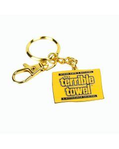 Pittsburgh Steelers Terrible Towel Metal Keychain
