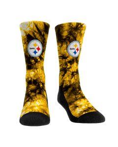 Pittsburgh Steelers Tie Dye Socks