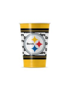 Pittsburgh Steelers Disposable Partyware Cups - 20ct