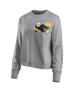 Pittsburgh Steelers Women's Hometown Fan Fleece Crew