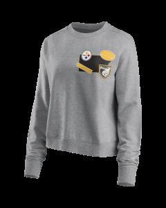 Pittsburgh Steelers Women's Hometown Fan Fleece Crew