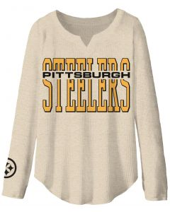Pittsburgh Steelers Women's Sunday Notch Neck Thermal