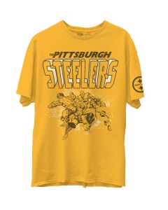 Pittsburgh Steelers Unisex Disney Marvel Short Sleeve T-Shirt