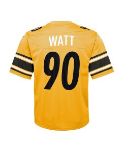 T.J. Watt #90 Youth Nike Replica Inverted Color Rush Jersey