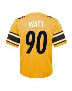 T.J. Watt #90 Youth Nike Replica Inverted Color Rush Jersey