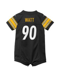 T.J. Watt #90 Newborn/Infant Nike Replica Jersey Romper