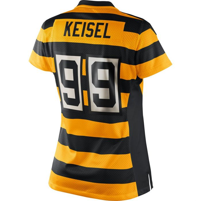 Pittsburgh Steelers Nike Women's Brett Keisel Replica Third Jersey