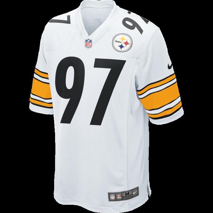 Pittsburgh Steelers Nike #26 Le'Veon Bell Replica Away Jersey