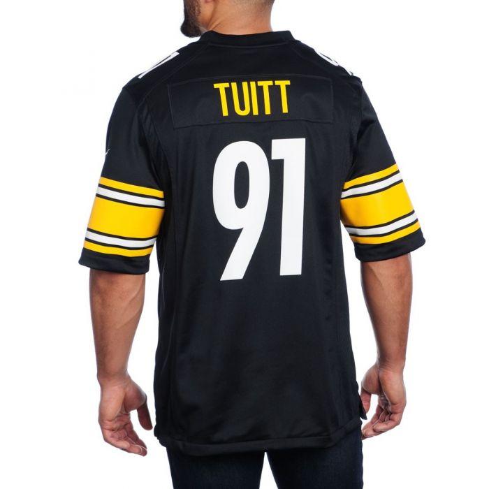 Stephon Tuitt #91 Men's Nike Replica Home Jersey