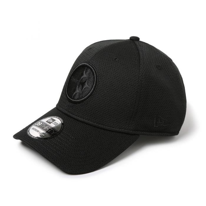 New Era 39Thirty Pittsburgh Steelers Cap schwarz M//L