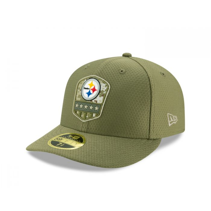 New Era 59Fifty Cap Salute to Service Pittsburgh Steelers