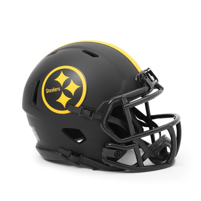 Pittsburgh Steelers Color Rush Eclipse Speed Mini Helmet