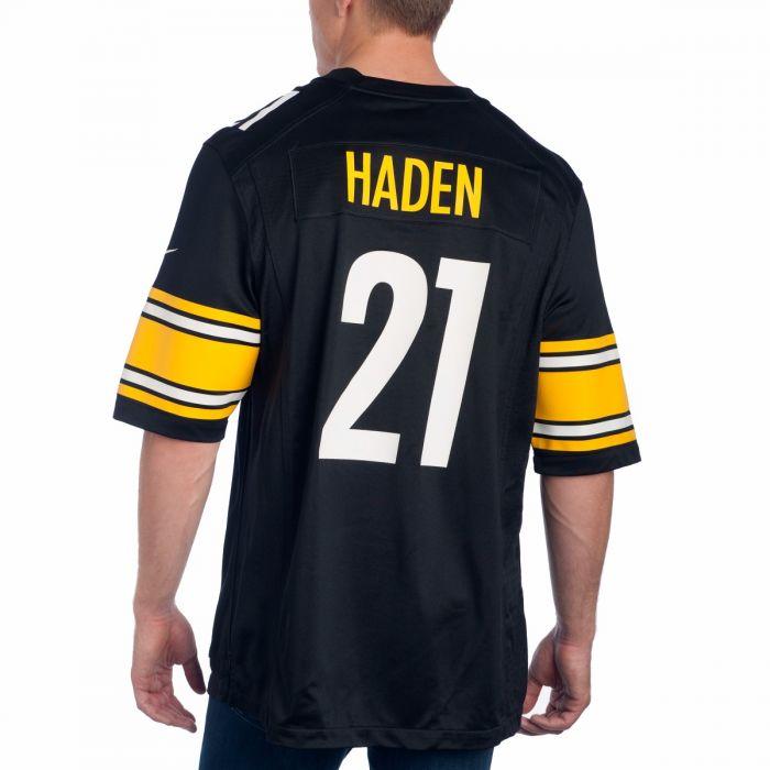 Pittsburgh Steelers Nike #21 Joe Haden Replica Home Jersey