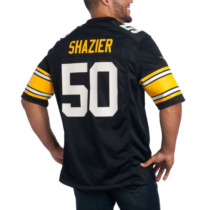Ryan Shazier #50 Men's Nike Replica Throwback Jersey