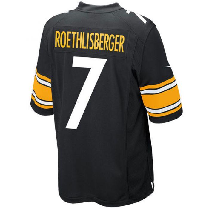 Ben Roethlisberger #7 Youth Nike Replica Home Jersey