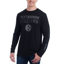 Majestic OUR TEAM Longsleeve Pittsburgh Steelers grey