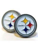 Pittsburgh Steelers Logo Post Earrings