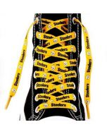 Pittsburgh Steelers Shoelaces - Gold
