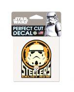 Pittsburgh Steelers Star Wars Storm Trooper Decal
