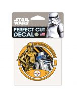 Pittsburgh Steelers Star Wars R2D2 Decal