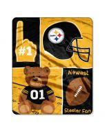 Pittsburgh Steelers Smallest Fan Baby Blanket