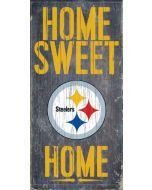 Pittsburgh Steelers 'Home Sweet Home' Wood Sign