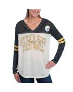 Pittsburgh Steelers Women's Touch Field Position Long Sleeve T-Shirt
