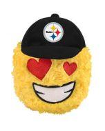 Pittsburgh Steelers Heart Eyes Teamoji Plush Ball