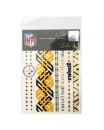 Pittsburgh Steelers Color Metallic Body Tattoos