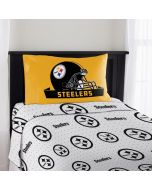 Pittsburgh Steelers Twin Size Sheet Set with 1 Pillowcase