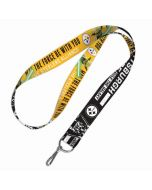 Pittsburgh Steelers May The Force Be With You Star Wars Lanyard
