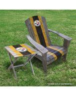 Pittsburgh Steelers Wooden Adirondack Folding Table
