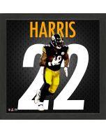 "Pittsburgh Steelers #22 Najee Harris Impact Jersey 13"" x 13"" Framed Photo"