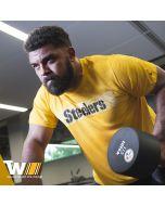 Pittsburgh Steelers Nike Legend Onfield Seismic Gold Short Sleeve T-Shirt