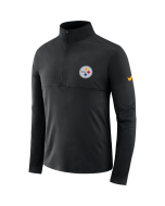 Pittsburgh Steelers Men's Nike Long Sleeve Element Core 1/2 Zip Top