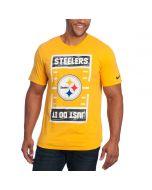 Pittsburgh Steelers Nike JDI Short Sleeve T-Shirt