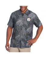 Pittsburgh Steelers Tommy Bahama NFL Frond Printed Camp