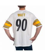T.J. Watt #90 Men's Nike Replica Away Jersey