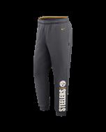 Pittsburgh Steelers Nike Lockup Therma Grey Jogger