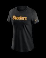 Pittsburgh Steelers Women's Nike Wordmark Short Sleeve T-Shirt