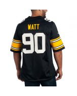 T.J. Watt #90 Nike Men's Replica Throwback Jersey