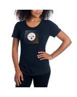 Pittsburgh Steelers Women's Under Armour NFL Combine Dot T-Shirt